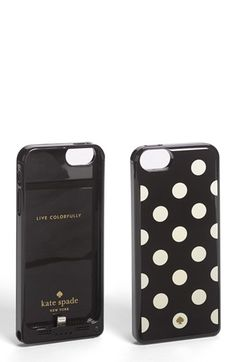 kate spade new york 'le pavillion' iPhone 5 case & portable charger available at #Nordstrom