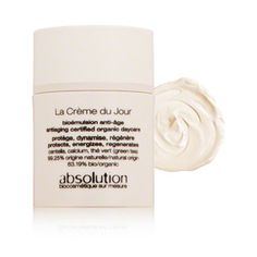 Absolution La Creme du Jour Day Cream // Have been using this for a few days- I love that it is just rich enough to feel like I'm treating my skin to plenty of hydration without feeling greasy.