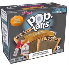"""Forty-Six Horrifying Pop Tart Flavors That Are Fake, Thank God - Funny memes that """"GET IT"""" and want you to too. Get the latest funniest memes and keep up what is going on in the meme-o-sphere. Funny Food Memes, Food Humor, Really Funny Memes, Stupid Funny Memes, Funniest Memes, Fun Funny, Hilarious, Gross Food, Weird Food"""