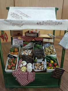 Charming fruit and veg stall!