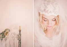 Wedding Veil Inspirations by Izzie Rae Photography