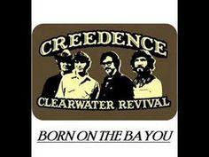 #Creedence Clearwater Revival - Born On The Bayou (+lista de reproducción) #music #folk