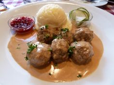 This looks like a very good meatball recipe, might be better than the one I have used for years. Swedish Meatballs