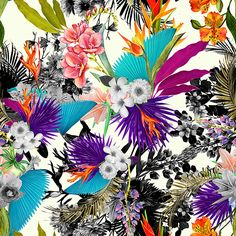 Tropical Pattern on Behance
