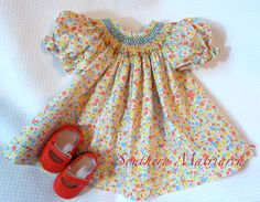 "Southern Matriarch: A ""Wee Care"" Doll Dress"