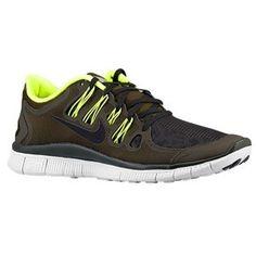 Sortie Francee Nike Free 5.0+ Shield Chaussures Homme Sombre Loden/Volt/Pur Platinum/Noir Pas Cher En France