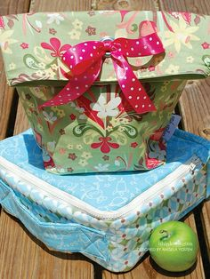 388 Lunch Bags PDF Pattern - ithinksew.com