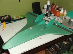 X-Shuttle, my wing for night (and not only) flying - plans - RC Groups