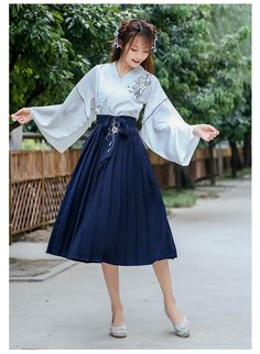 Cute Asian Fashion, Look Fashion, Korean Fashion, Girl Fashion, Fashion Design, Kimono Fashion, Lolita Fashion, Fashion Dresses, Pretty Outfits