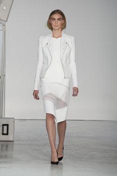 Veiled Look by Dion Lee   Spring/Summer 2013 London fashion week