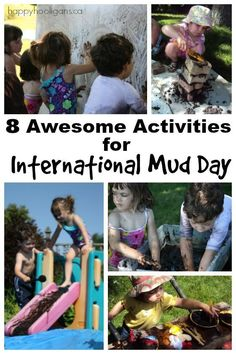 Outdoor Play Ideas and Backyard Activities for Kids - Happy Hooligans Outdoor Activities For Kids, Outdoor Learning, Motor Activities, Science For Kids, Science Activities, Summer Activities, Preschool Activities, Fun Learning, Happy Hooligans