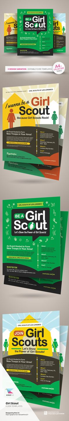 32 Best Girl Scout Recruiting Troop Organizing Images Girl Scout