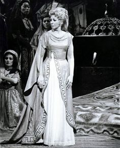 Beverly Sills in her Metropolitan Opera debut as Pamira in Rossini's Siege of Corinth on April 7, 1975. | opera