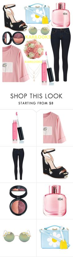 """Chamomile🌼"" by karilooks ❤ liked on Polyvore featuring Laura Geller, Levi's, Kate Spade, Lacoste, Full Tilt and Mark Cross"