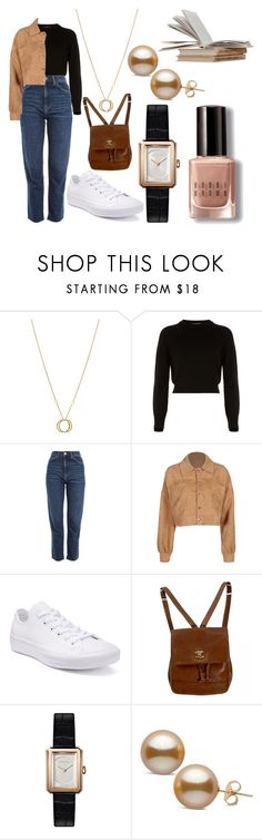 """..."" by ashleighlouise01 on Polyvore featuring Charriol, Helmut Lang, Topshop, Converse, Chanel and Bobbi Brown Cosmetics"