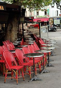 """Place de la Bastille Paris - for about 10 days, I """"lived"""" on a barge about 100 yards from this cafe. Best holiday ever."""