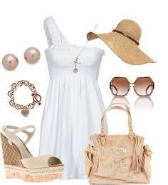 """Sun Dress..."" by sweetlikecandycane on Polyvore"