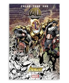 Color Your Own: Age of Ultron Paperback Coloring Book