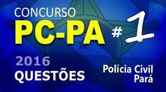 Concurso PC PA 2016 Polícia Civil do Pará - Questão de Informática - # 1