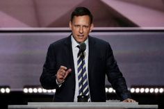 Peter Thiel's speech about why he's endorsing Trump