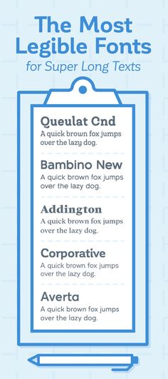 20 Best And Worst Fonts To Use On Your Resume Resume fonts - best fonts for a resume
