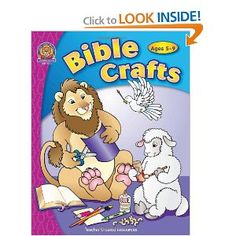 Fabulous Crafts for Bible Stories.  Love it!