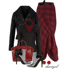 """""""Tartan Plaid Contest"""" by sherryvl on Polyvore"""