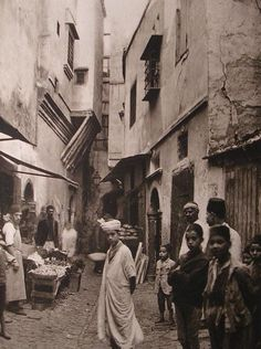 Casbah Of Algiers, Before 1930