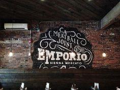 Sienna Mercato by Ryan Hamrick #typography #type #handpainted