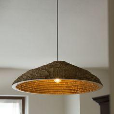 """<p>Ricorda il Messico delle vacanze la <strong>lampada da soffitto Sombrillas</strong>, gli ombrelloni di paglia in spiaggia sotto cui gustarsi un fresco cocktail…. Come sentirsi in vacanza! Un complemento d'arredo fresco, perfetto per un ambiente rustico, disponibile su Lovli nella versione Big e Small.   Design: Marc Krusin</p> <p><span style=""""background-color: #ffffff; color: #ffffff;"""">#ecielampada</span></p> <p></p> <p><span style=""""color: ..."""