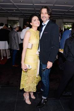 Lana Parrilla & Fred Di Blasio 2015 BAFTA Los Angeles TV Tea - Inside