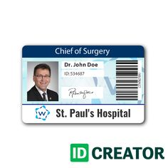 Doctor ID Card 3