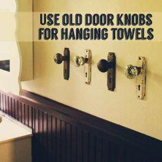 Door Nob Hand Towels