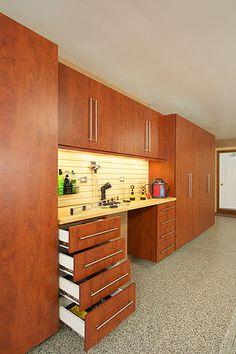 Recent Projects Farmingdale NJ Garage Cabinet Systems, Garage Cabinets, Kitchen Cabinets, Cool Garages, Custom Garages, Home Design, Garage Floor Coatings, Garage Flooring, Garage Workshop