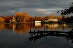 HANNOVER Südstadt Maschsee Lake Hanover Germany  Herbst in Hannover !!