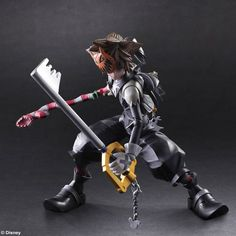 Kingdom Hearts II Play Arts Kai Action Figure - Sora Halloween Town Ver. @Archonia_US