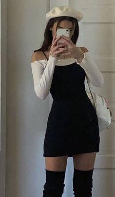 Adrette Outfits, Indie Outfits, Teen Fashion Outfits, Cute Casual Outfits, Girly Outfits, Retro Outfits, Look Fashion, Stylish Outfits, Korean Fashion