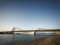 The Sheikh Zayed bridge