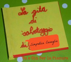 Un sogno, un libro, un regalo. From a dream to a minibook. A funny way to play with my 7 years old son