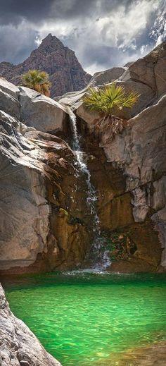 Emerald Pool, Baja California