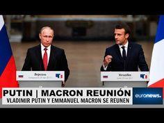 Ultimas noticias de RUSIA FRANCIA, PUTIN Y MACRON SELLAN ACUERDOS 29/05/2017 - YouTube