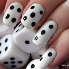 No dice!  My daughter might love this for Vegas & AC nights...think I would do it in reverse colors