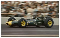 Jimmy Clark in his Lotus!!!