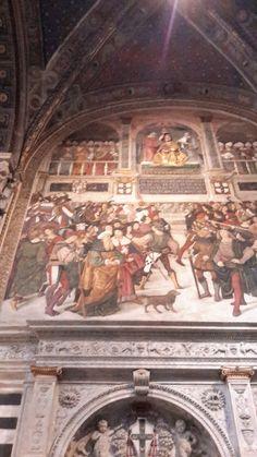 Duomo di Siena - Libreria Piccolomini - ingresso