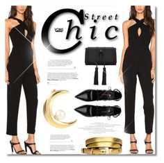 """Street Chic: Yoins"" by defivirda ❤ liked on Polyvore featuring Yves Saint Laurent"