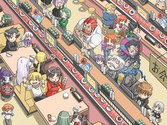 Anime 1600x1200 Fate Series Fate/Zero Saber Irisviel von Einzbern Illyasviel von Einzbern Sakura Matou Kiritsugu Emiya Berserker (Fate/Zero) Caster (Fate/Zero) Lancer (Fate/Zero) Gilgamesh Rider (Fate/Zero)