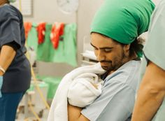 BabyYumYum Influencer Article: Dads, it's okay for you to cry when your baby is born! by Terence Mentor, AfroDaddy. You've waited nine months for today . My Wife Is, Mom And Dad, Grumpy Baby, Delivery Room, One Job, Get Your Life, One Moment, Nine Months, Miracles Happen