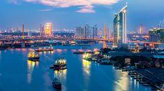 5 reasons to visit Bangkok. #BaiyokeSkyHotel #WatPho #GrandPalaceBangkok #RecliningBuddha #MonsoonValleyWines #DragonFruit