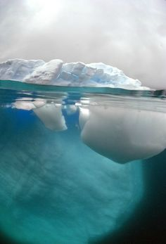 only 10% of an iceberg is on top of the water for us to see...the rest is lurking below