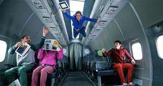 De spelade in sin musikvideo i viktlöshet i ett flygplan. Resultatet? Det häftigaste jag sett!